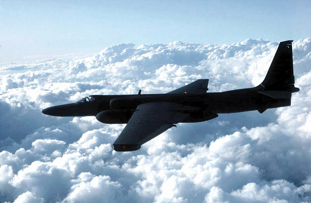 U-2 spy plane flying at 60,000 triggered air traffic control shutdown