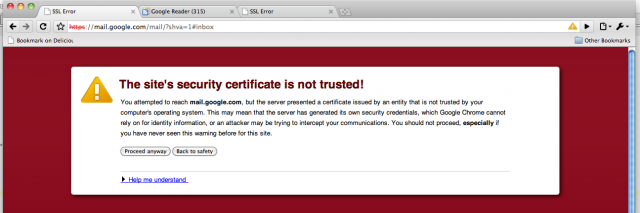 Significant portion of HTTPS Web connections made by forged certificates