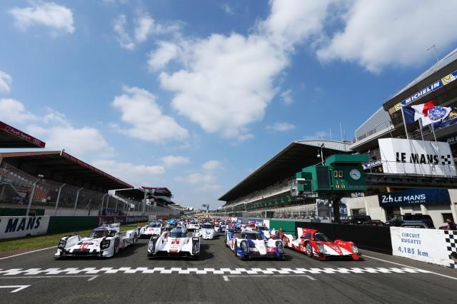 The front row, Le Mans Test May 31 to June 1, 2014. Circuit de la Sarthe, Le Mans, France.