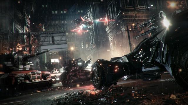 "Preview: Batman: Arkham Knight puts the ""Bat"" in ""Batmobile"""