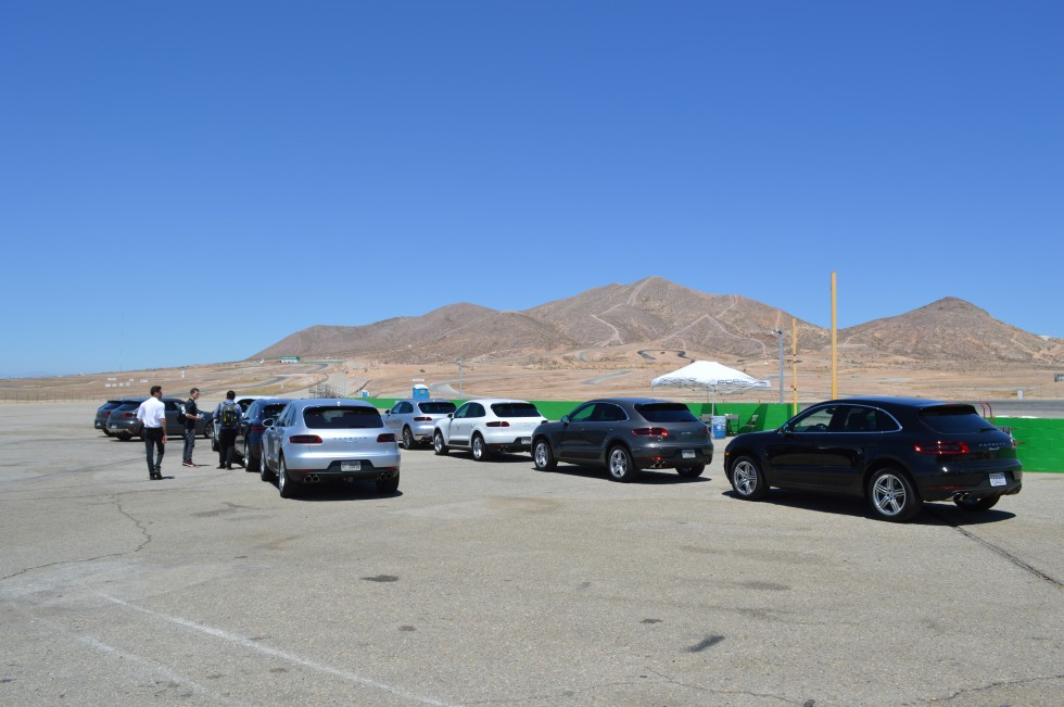 These cars are ready to drive at the Willow Springs Raceway, with or without you.