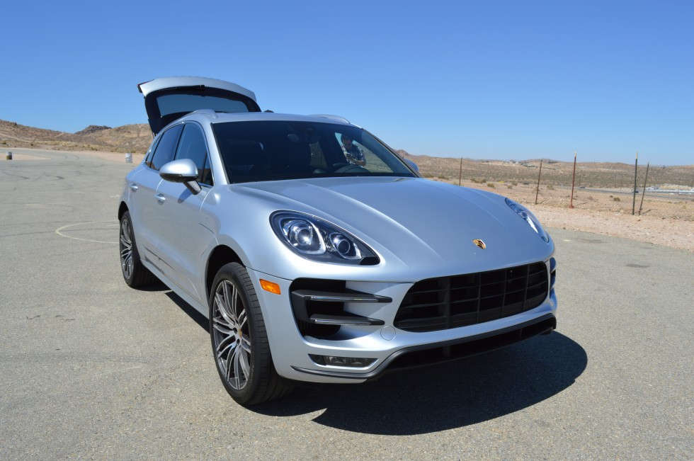 A day in the new Porsche Macan, an SUV that wants to race