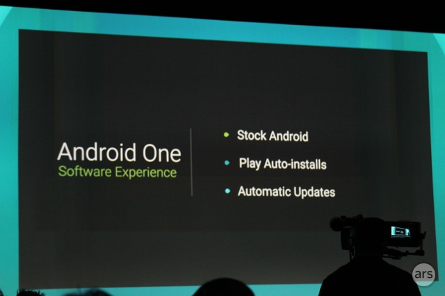 "Google reveals ""Android One"" phones with no bloatware, automatic updates"