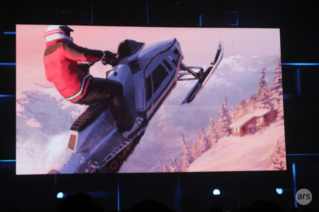 """CHECK OUT MY SICK SNOWMOBILE JUMP BRAH!"""