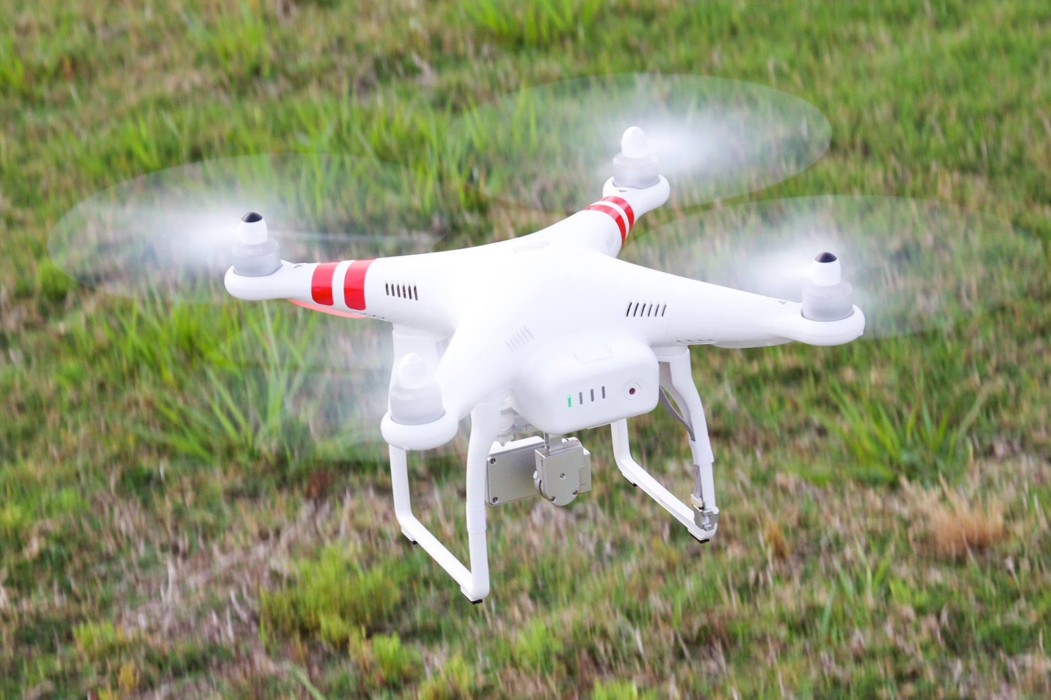 Flying And Crashing A 1300 Quadcopter Drone