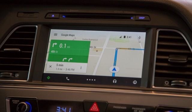 A test drive with Android Auto, a simple solution to clunky car software