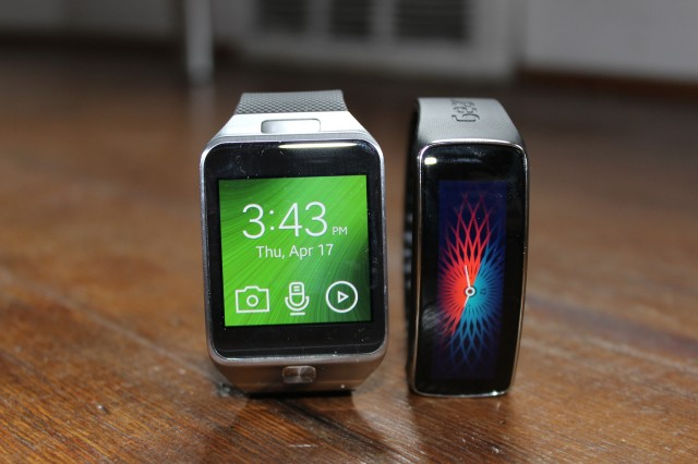 The Tizen-based Gear 2 and Gear Fit could soon get an Android Wear-based cousin.