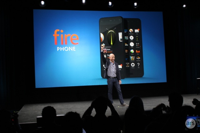 Amazon announces the Fire Phone, $199 with 2-year contract for 32GB