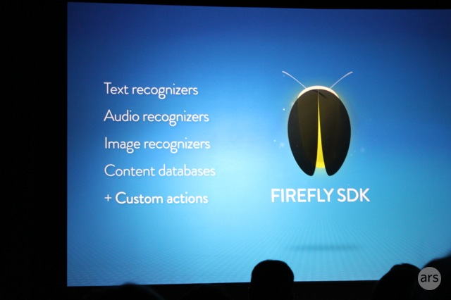 Amazon has created a third-party SDK for its new Firefly feature.
