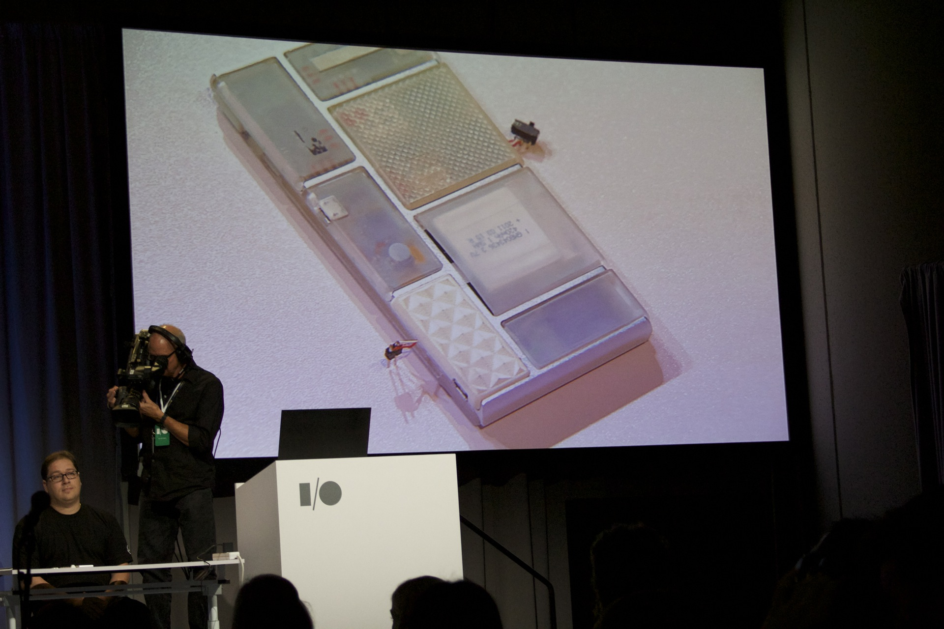 The Ara phone was emphatically a prototype—no shiny concept renders here.