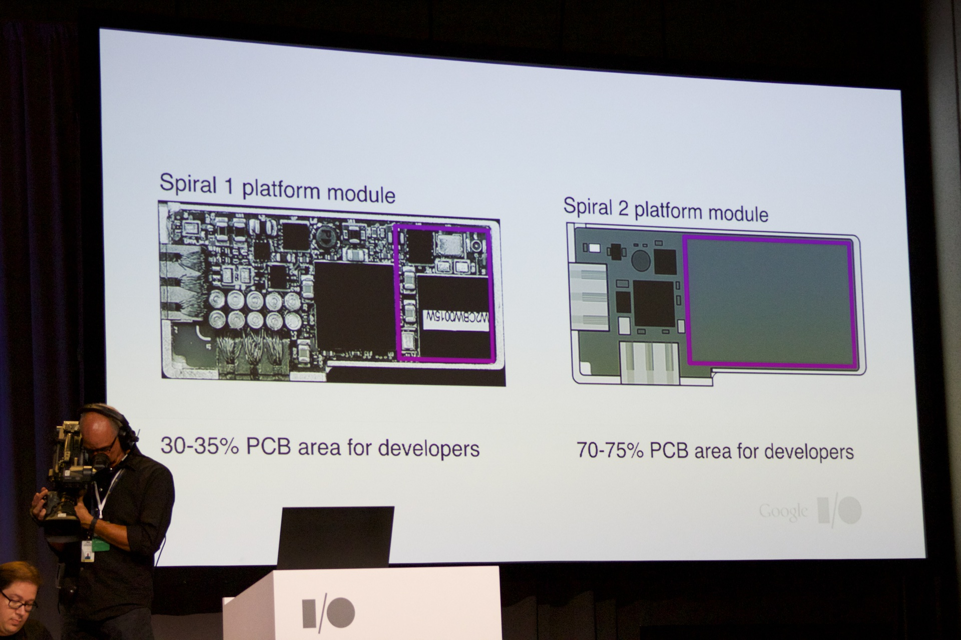 Current Ara modules need to use a lot of space on what makes them modular. Future modules will give developers more room to play with.