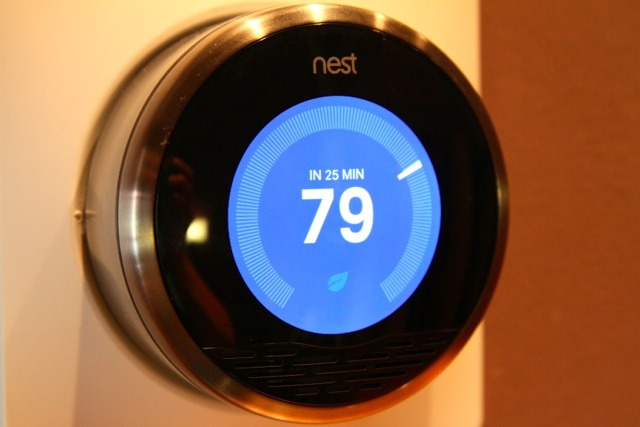 The Nest thermostat will soon be able to communicate with other smart devices in your home.