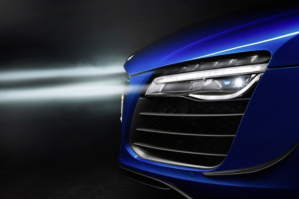 Laserbeam headlights? Not in the US