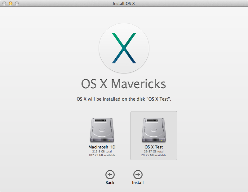 How to create a test partition for the OS X Yosemite beta
