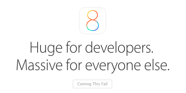 Apple has made several developer-pleasing changes in iOS 8—better late than never.