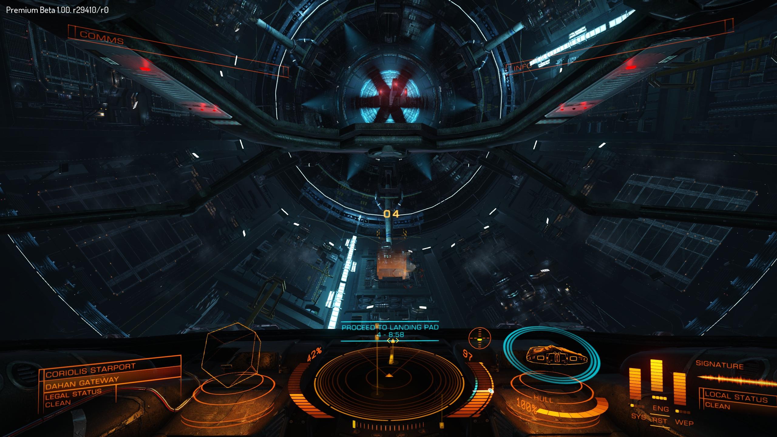 Inside Dahan Gateway, making my way to pad 4.