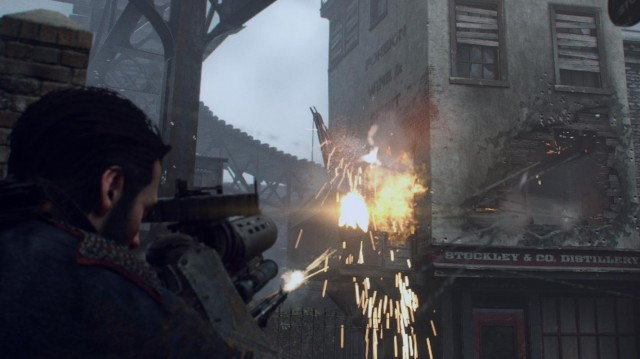 If you got a problem, yo, thermite will solve it in <i>The Order: 1886</i>.