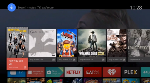 Google makes a comeback in the living room with Android TV