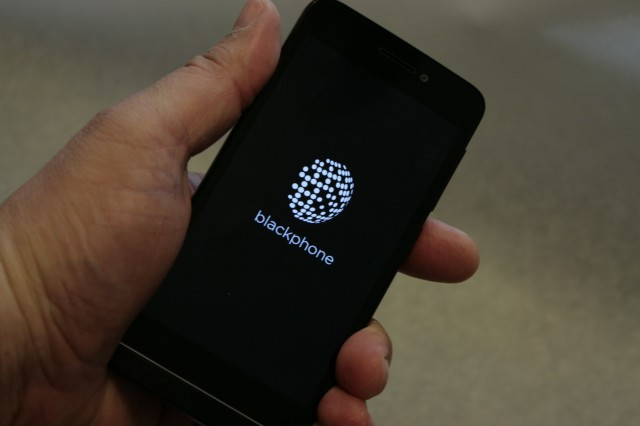 Built for privacy, the Blackphone runs a beefed-up Android called PrivatOS.