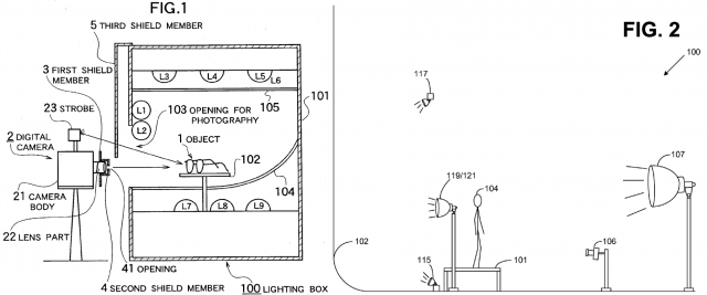 Left: the Saigo patent. Right: Amazon's much-ridiculed patent.