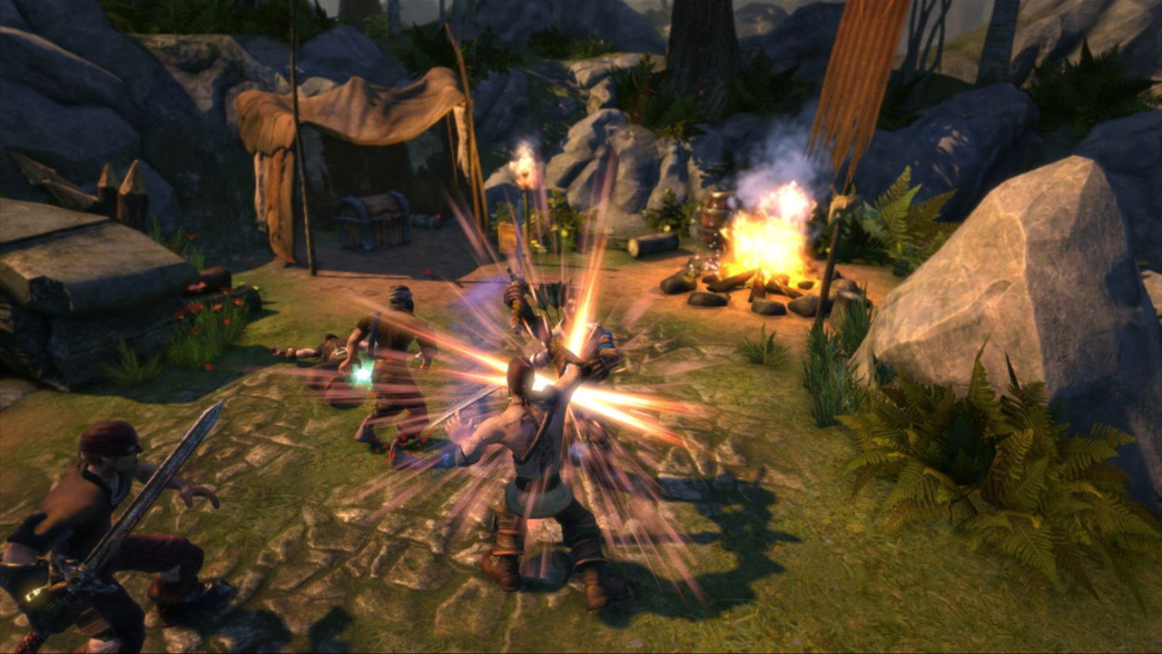 Odd, tablet-heavy gameplay has us worried about the eventual playerbase for <i>Fable Legends</i>.