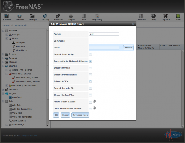 The Ars NAS distribution shootout: FreeNAS vs NAS4Free | Ars