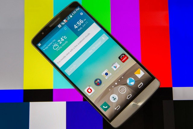 The G3's display has more pixels than yours.