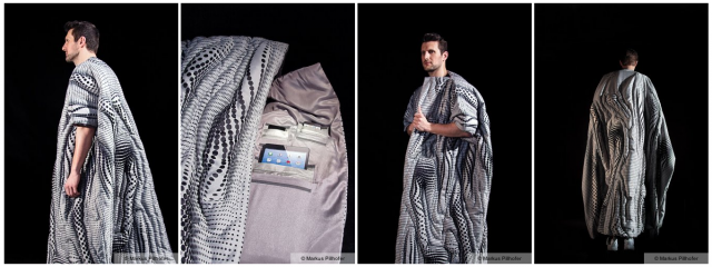 The Amazing Monochrome Signal-Blocking Dreamcoat (or so we would have named it).