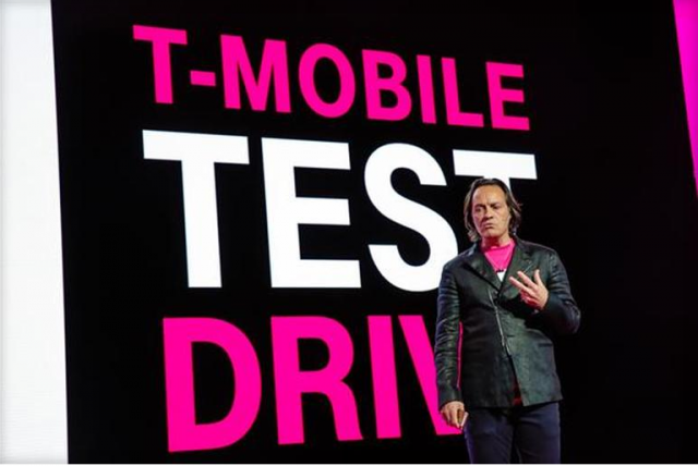 "T-Mobile CEO John Legere talked about two main things at the company's event today, and the first was a new ""test drive"" program."