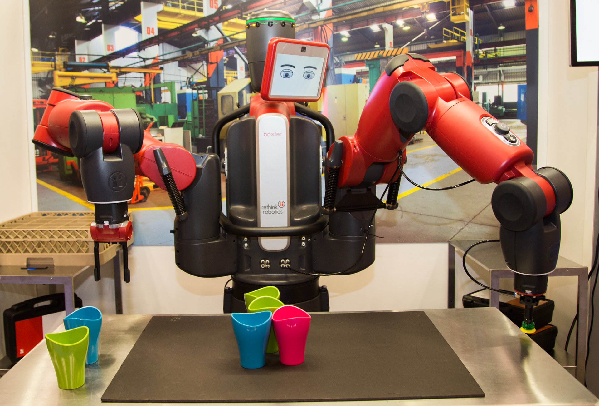 Hands On With Baxter The Factory Robot Of The Future