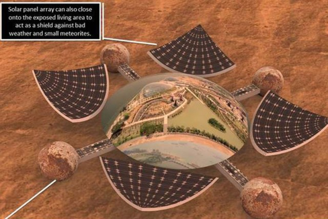 Want to design a Mars base for Nasa? Now's your chance ...