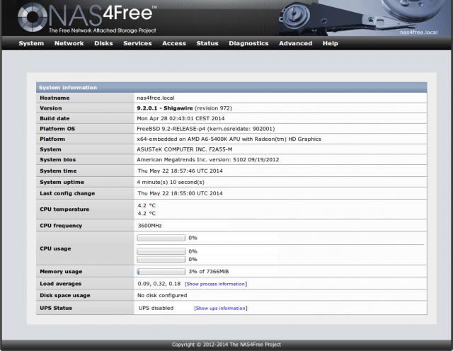 NAS4Free 9.2.0.1