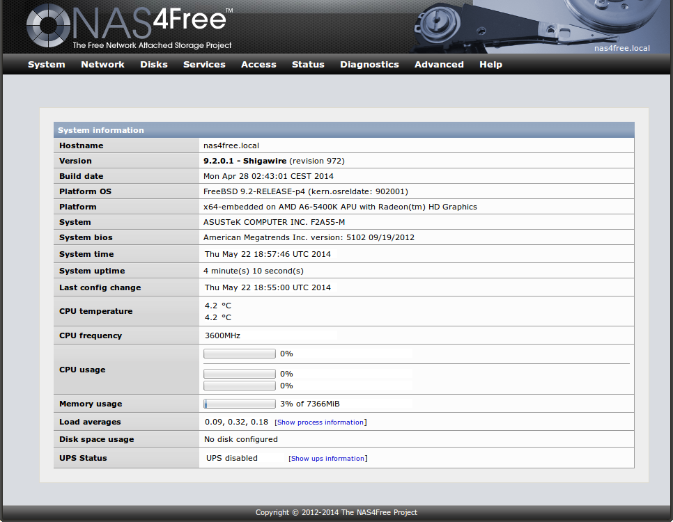 The Ars NAS distribution shootout: FreeNAS vs NAS4Free | Ars Technica