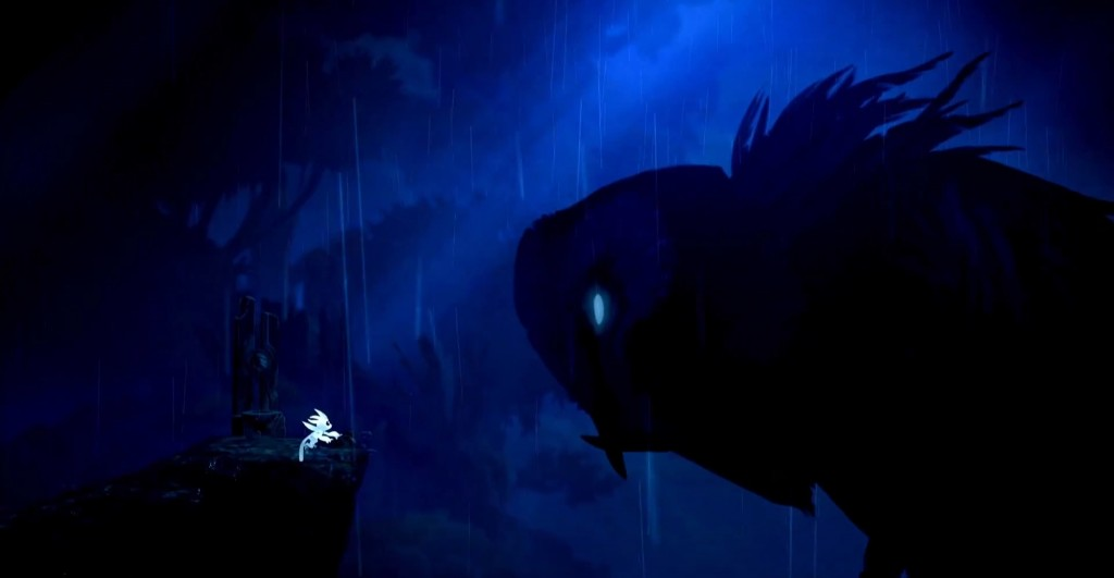 Cute graphis meet with some cute puzzles in the enchanting, Metrodivania-style <em>Ori and the Blind Forest.</em>