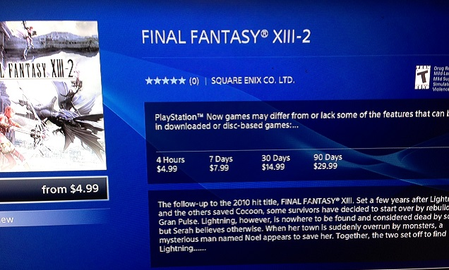 $30 for a 90-day rental is a bit ridiculous when the full game sells for $17 on disc...