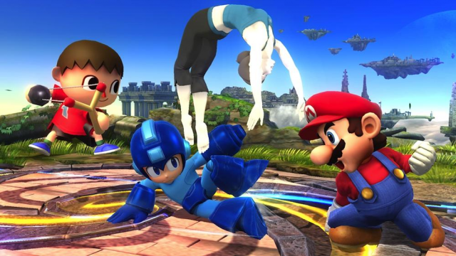 Who needs third-party support when you have <i>Smash Bros.</i>?