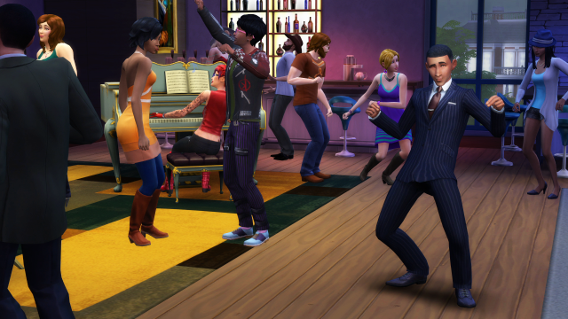 "Barack Obama's appearance in early <em>Sims 4</em> promo shots would be a lot better with the game's eventual ""limbo"" expansion pack."