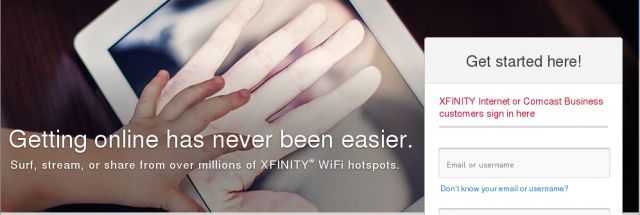 "Free"" Wi-Fi from Xfinity and AT&T also frees you to be"