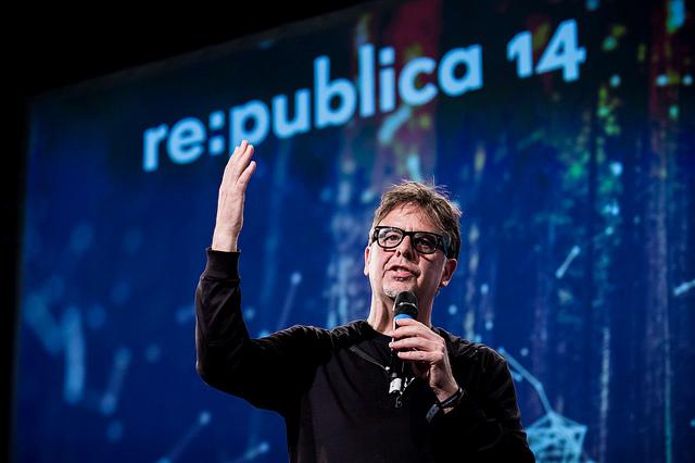 Deibert during a 2014 talk.