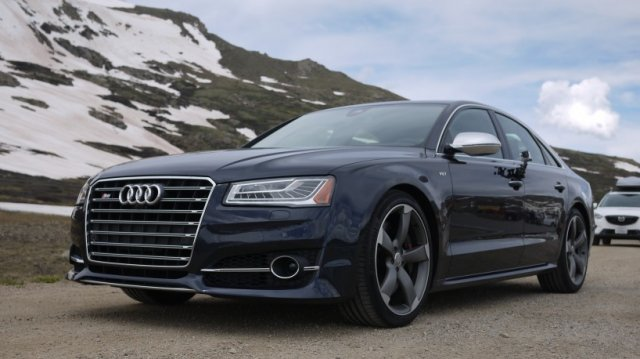 The Audi A8 is the perfect car for the tech-obsessed plutocrat