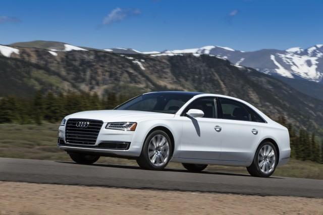 The 2015 Audi A8.