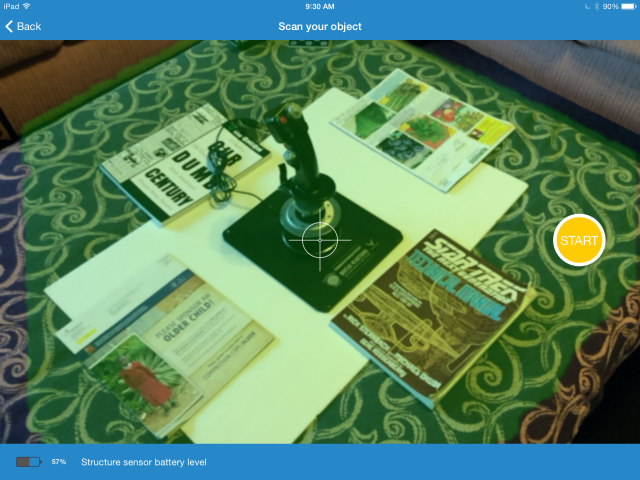 Hands on: Structure Sensor turns your iPad into a 3D