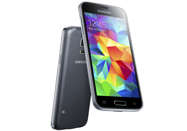 The Galaxy S5 Mini has a smaller screen and leaner spec sheet