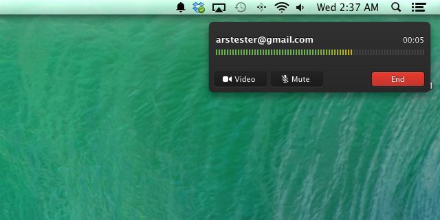 FaceTime Audio in Mavericks. That UI sure looks familiar.