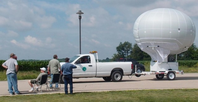 Forget drones: These tethered blimps can spy on cities below