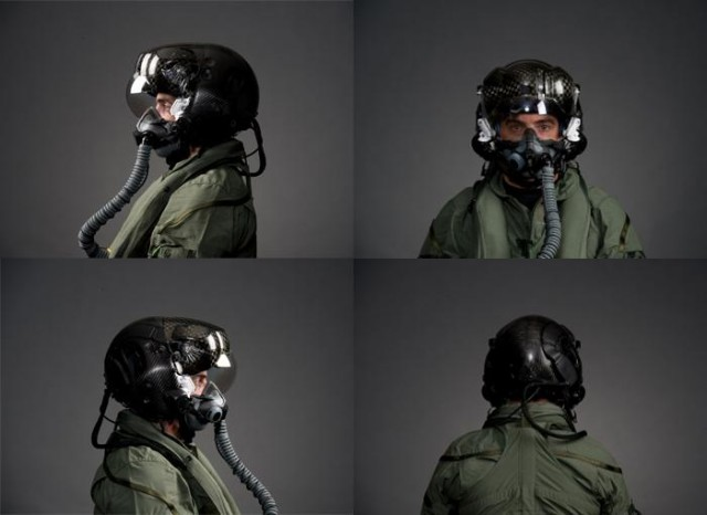 Rockwell Collins and Elbit Systems' joint effort—a helmet that can see through planes without making the pilot throw up—can also break their necks if they eject.
