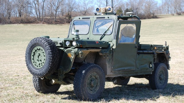 Meet GUSS, the little jeep that will follow you anywhere—if you happen to be a beacon-wearing Marine, that is.