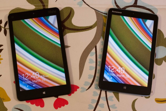Lenovo's 8-inch Windows tablets can't get traction in the US.