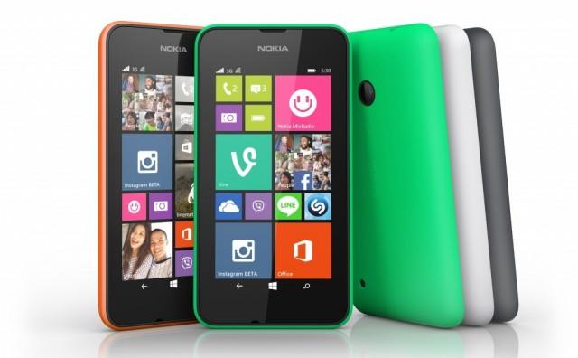 The Lumia 530.