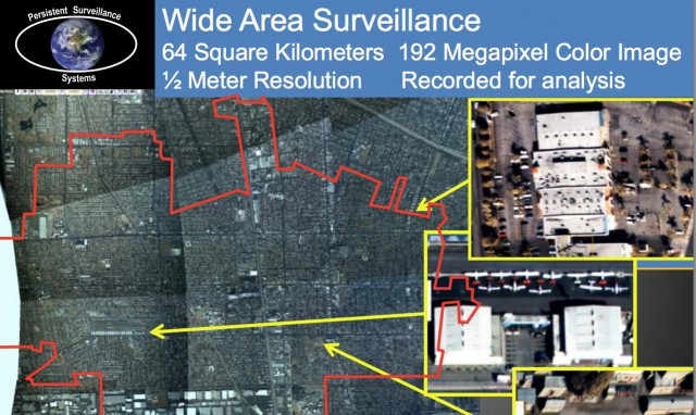 Persistent Surveillance Systems has been watching Baltimore for months [Updated]